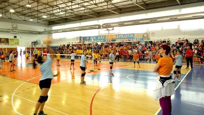 Street volley στη Νεμέα για τις ακαδημίες