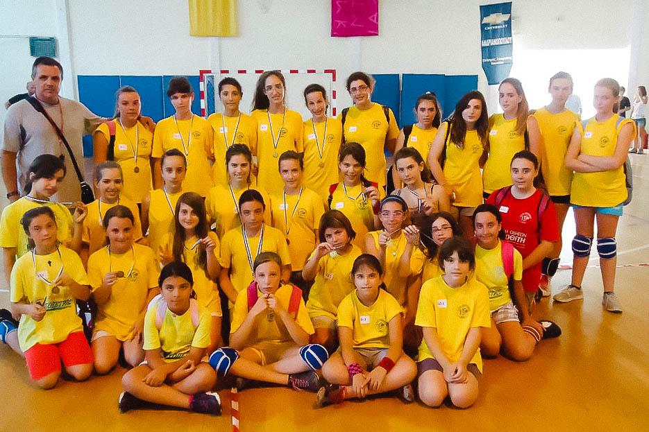 Μεγάλη επιτυχία στο Street volley της Νεμέας