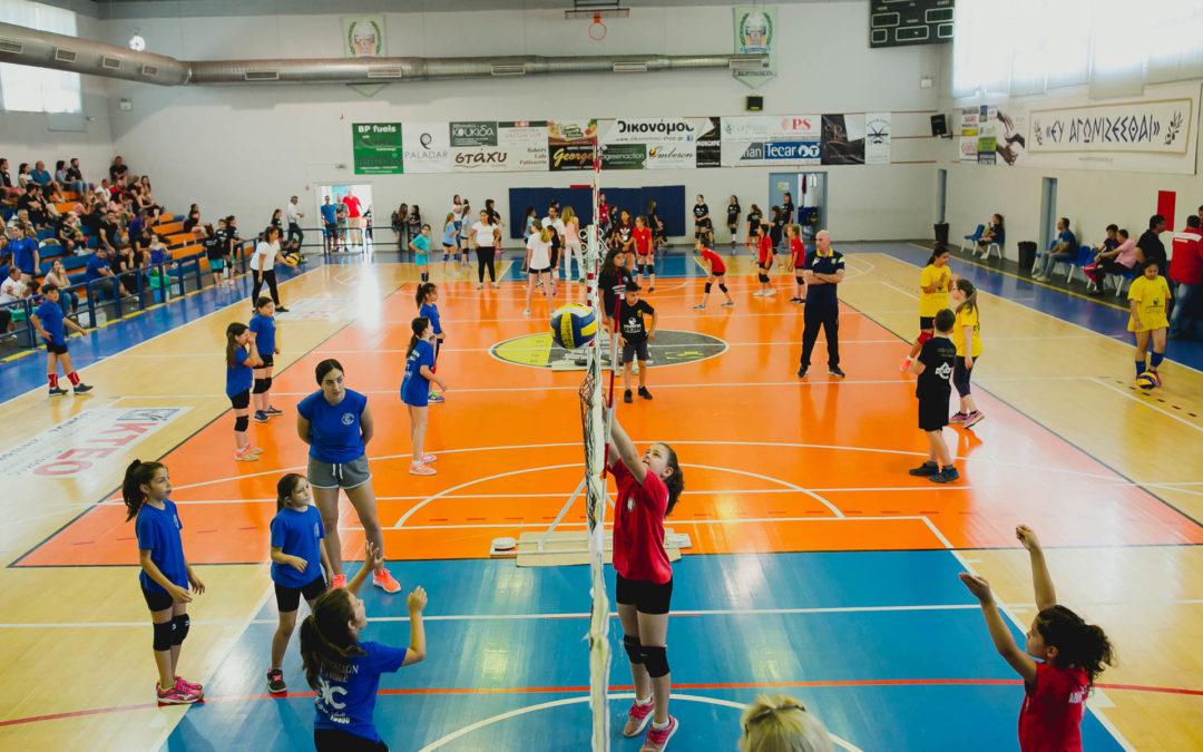 Με επιτυχία ολοκληρώθηκε το 10ο τουρνουά Mini Volley του ΑΣΠ Κόρινθος
