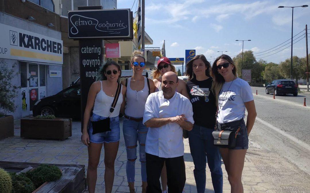 """Για δεύτερη χρονιά οι """"Δειπνοσοφιστές"""" δίπλα στον ΑΣΠ Κόρινθος"""
