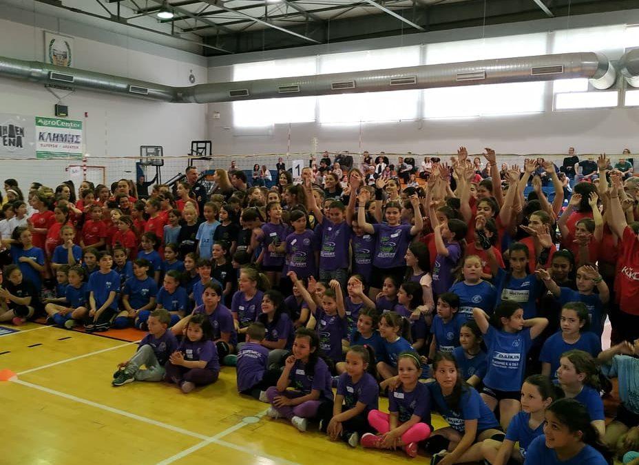 Με… άρωμα Εθνικής το 11ο τουρνουά Mini Volley Ακαδημιών του ΑΣΠ Κόρινθος