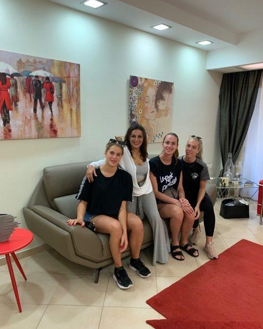 Πέρασαν όλες τις απαραίτητες ιατρικές εξετάσεις οι αθλήτριες του ΑΣΠ Κόρινθος